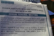 ZIEA AGM – 27th May, ...